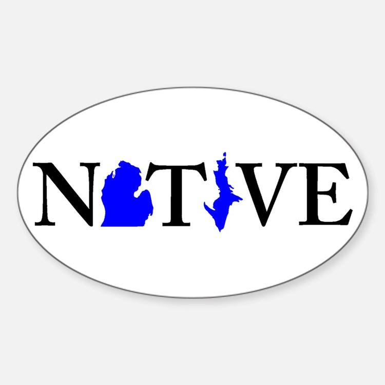 Native Michigander Decal
