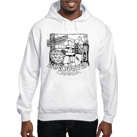 Vancouver Souvenir Hooded Sweatshirt