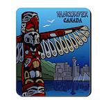 Vancouver BC Souvenir Mousepad Vancouver Art Gifts