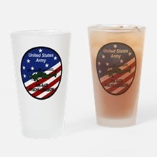 Unique Apache helicopter Drinking Glass