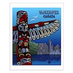 Vancouver Souvenir Small Poster Art Print