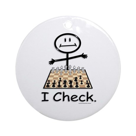 Chess Ornament (Round)