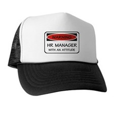 Attitude HR Manager Trucker Hat
