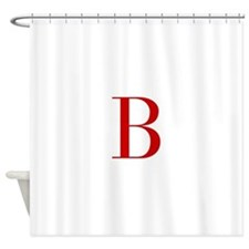 B-bod red2 Shower Curtain