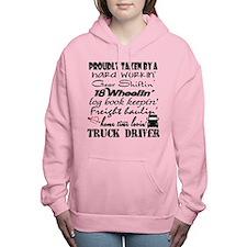 Proudly Taken by a Truck Women's Hooded Sweatshirt