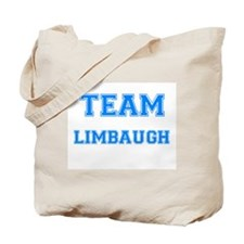 TEAM LIMBAUGH Tote Bag