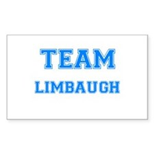 TEAM LIMBAUGH Rectangle Decal