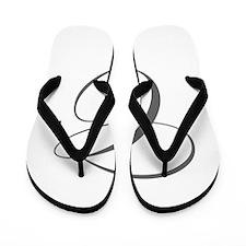 C-edw gray Flip Flops