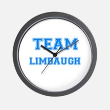 TEAM LIMBAUGH Wall Clock