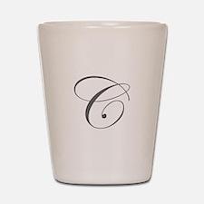 C-edw gray Shot Glass