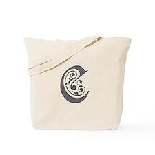 C-pre gray Tote Bag