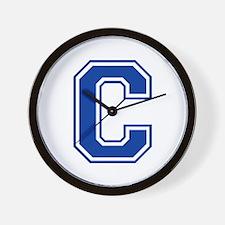 C-var blue2 Wall Clock