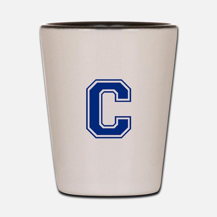 C-var blue2 Shot Glass