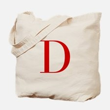 D-bod red2 Tote Bag