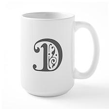 D-pre gray Mugs