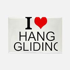 I Love Hang Gliding Magnets