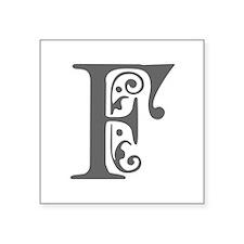 F-pre gray Sticker