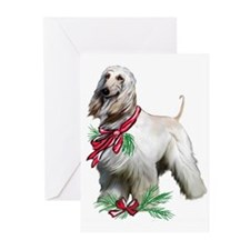 Cute Afghan hounds Greeting Cards (Pk of 20)