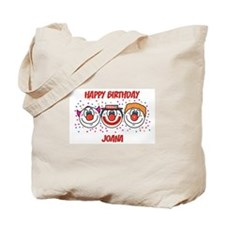 Happy Birthday JOANA (clowns) Tote Bag