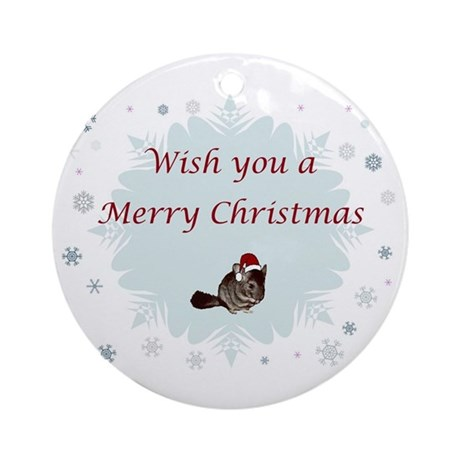 Wish you a Merry Christmas Ornament