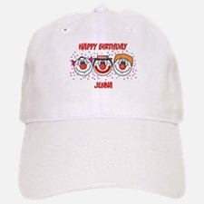 Happy Birthday JENNA (clowns) Baseball Baseball Cap