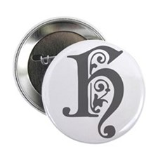 """H-pre gray 2.25"""" Button (100 pack)"""