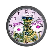 Gramma's gone wild again Wall Clock