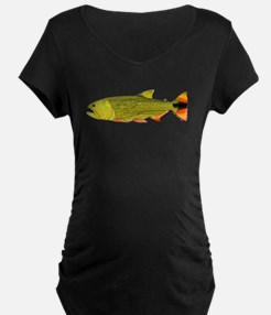 Golden Dorado c Maternity T-Shirt