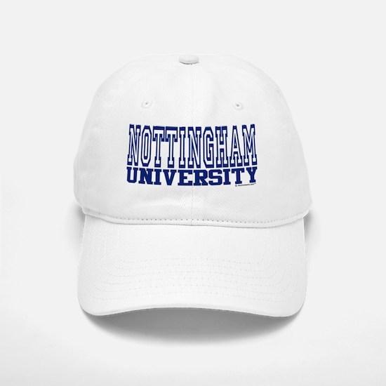 NOTTINGHAM University Baseball Baseball Cap