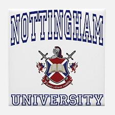 NOTTINGHAM University Tile Coaster