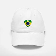 Brazil Baseball Baseball Cap
