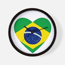 Brazil Wall Clock