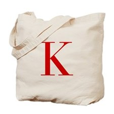 K-bod red2 Tote Bag