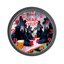 It's bear thirty wall clock Wall Clock