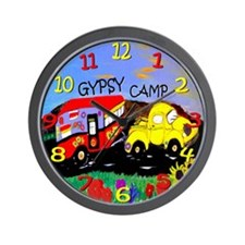 the gypsy wagon wall clock Wall Clock