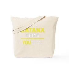 Funny Katanas Tote Bag