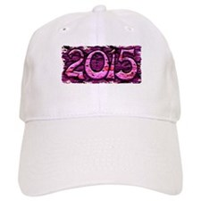 """Happy 2015"" Baseball Cap"
