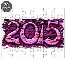 """""""Happy 2015"""" Puzzle"""