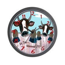 Cute Mood Wall Clock