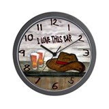 Bar Wall Clocks