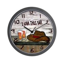 Cute Bar Wall Clock