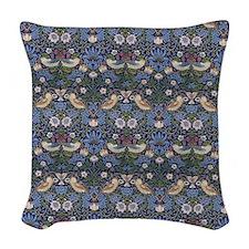 William Morris Strawberry Thie Woven Throw Pillow
