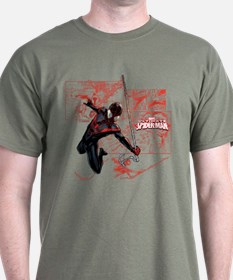 Ultimate Spider-Man Miles Morales Pan T-Shirt