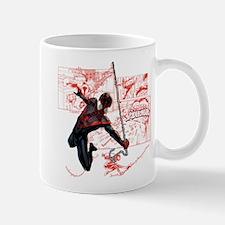 Ultimate Spider-Man Miles Morales Panel Mug