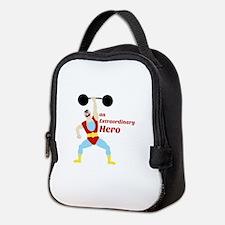 Extraordinary Hero Neoprene Lunch Bag