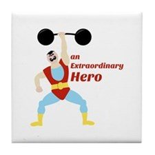 Extraordinary Hero Tile Coaster