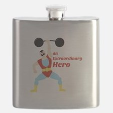 Extraordinary Hero Flask