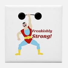 Freakishly Strong Tile Coaster