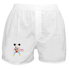 Strongest Man Boxer Shorts