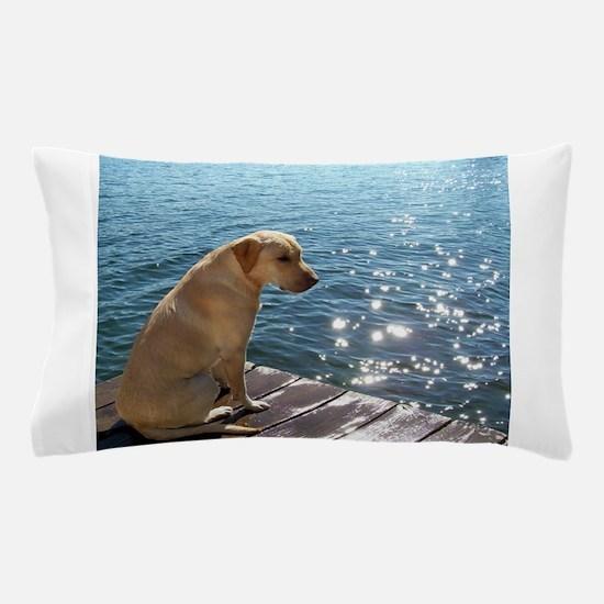 Yellow Labrador Pillow Case